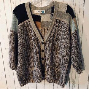Sparrow chunky knit cardigan